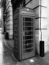 Telephone On Footpath