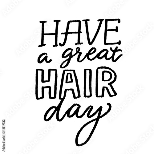 Fototapeta Have a great hair day