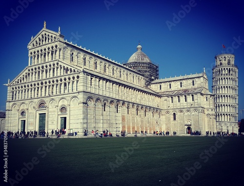 Fotografia Piazza Dei Miracoli Against Clear Sky