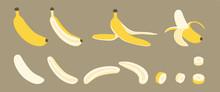 Banana Whole, Peeled, Split An...