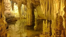Stalactite And Stalagmite In C...
