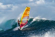 Windsurfing In Mauritius