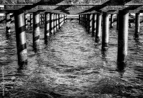Fényképezés Footbridge Over River