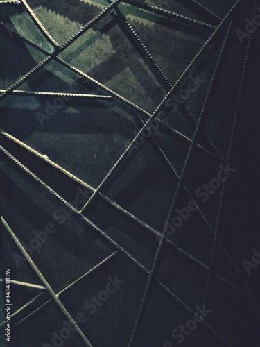 Fotografia Full Frame Shot Of Rebars