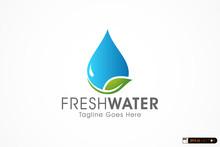 Natural Fresh Water Logo