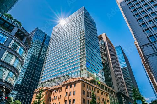 日本 東京 丸の内 オフィス街 高層ビル群 ~ Tokyo Office District,Marunouchi Area ~