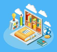 Isometric Online Education Com...