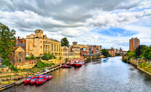 The Ouse River In York, England