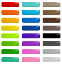 Web Buttons Colorful Illustrat...