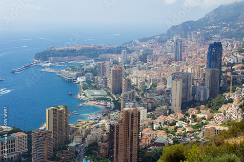 Photo Monaco-Montecarlo, wonderful city of the cote-d'Azur with its marine and archite
