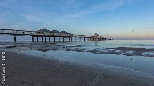 Obraz Seebrücke in Heringsdorf auf der Insel Usedom - fototapety do salonu
