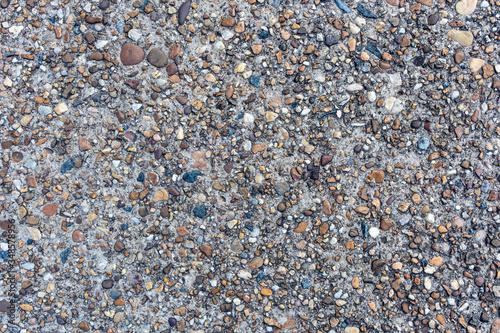 Photo Weathered Concrete Sidewalk Background Texture