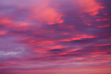 Bright Pink Sky Background At ...