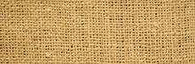 Brown Burlap Texture, Web Banner