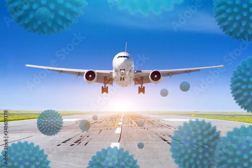 Opening flights between countries, the abolition of pandemic quarantine Canvas Print