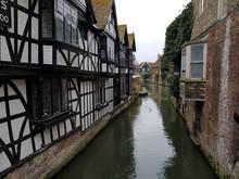 Tudor Style Buildings In Engla...