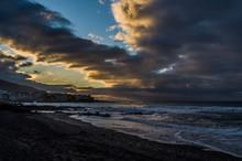 Sunset In Playa Jardin, Teneri...