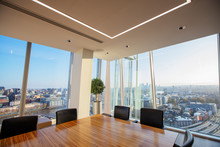 Corner Conference Room With Scenic Cityscape View, London, UK