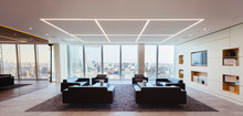 Sofas In Modern Urban Highrise...