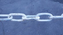 Large Chain Links On A Backgro...