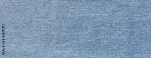 Fototapeta texture of blue jeans denim fabric  obraz