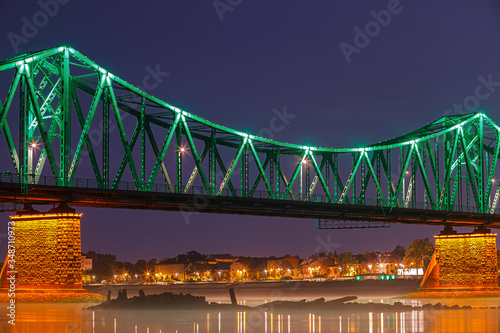 Włocławek - most nocą