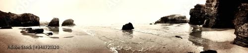 Photo Steep Cliffs On Beach