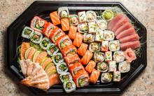 Sushi Maki Roll Set With Many ...