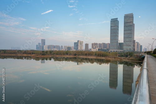 Fototapety, obrazy: Panoramic picture of China nanchang