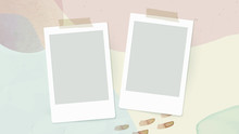 Blank Instant Photo Frames On ...