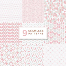 Collection Of Patterns Vector ...