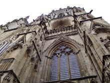 Low Angle View Of York Minster...