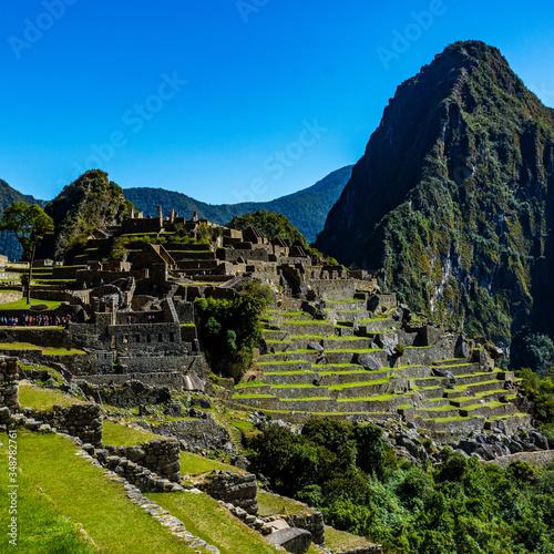 Fotografia Machu Pichu Ruins