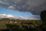 Fototapeta Na ścianę - widok niebo chmury las drzewa widok