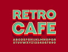 Vector Bright Logo Retro Cafe ...