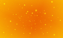 Orange Pop Art Background