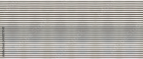 Fotografie, Tablou white new corrugated metal texture surface