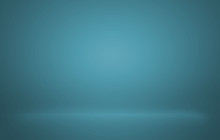 Blue Gradient For Abstract Bac...
