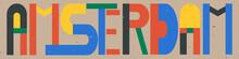 Amsterdam - Inscription In The...