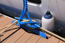 Mooring Lines Are Wound On The...