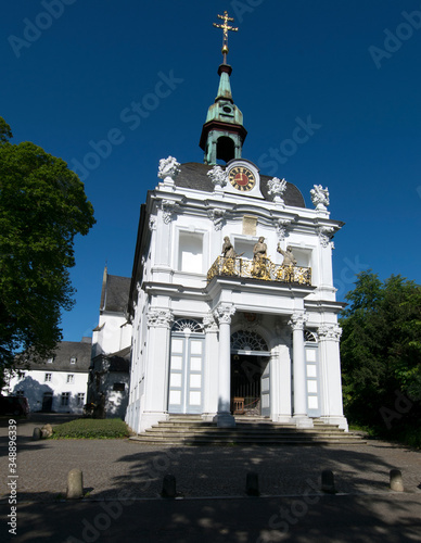 Obraz na plátně Bonn, Kreuzbergkirche mit Heiliger Stiege von Balthasar Neumann