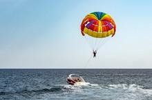 Parasailing Colorful Parachute...