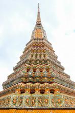 Chedi At Wat Pho, Pho Temple, ...