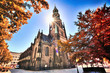 Leinwandbild Motiv Kirche Zwickau