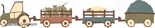 Tractor Wallpaper Mural
