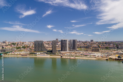 Fotografia Belgrade Waterfront - new chapter in the city of Belgrade, Serbia