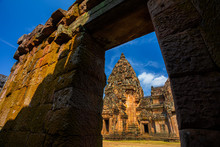 Prasat Hin Phanom Rung Hindu Religious Ruin Located In Buri Ram Province Thailand, Built Around The 10th-12th Century And Used As A Religious Shrine In Hinduism.UNESCO World Heritage Site,Generally In