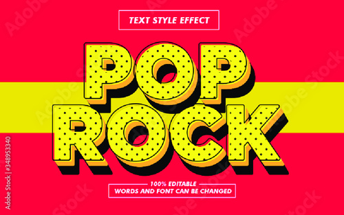 Vintage Vector Text Style Effect - 348953340