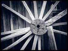 Close-up Of Wooden Sticks