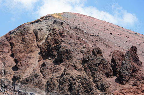 extinct volcano called Vesuvius near Naples in southern Italy Tablou Canvas